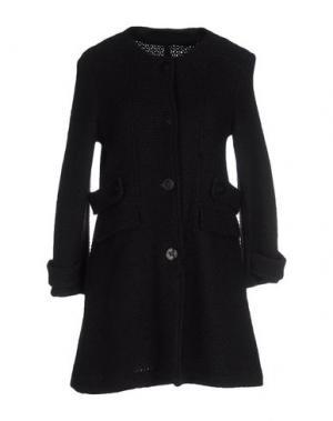 Пальто ANGELA MELE MILANO. Цвет: черный