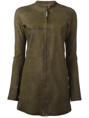 Куртка Ambitieuse Isaac Sellam Experience. Цвет: зелёный
