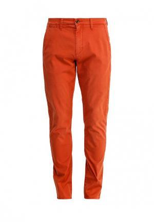 Брюки Quiksilver. Цвет: оранжевый