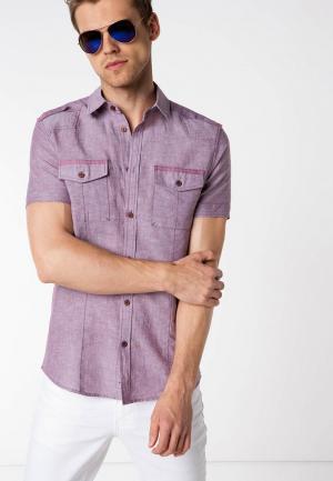 Рубашка DeFacto. Цвет: фиолетовый