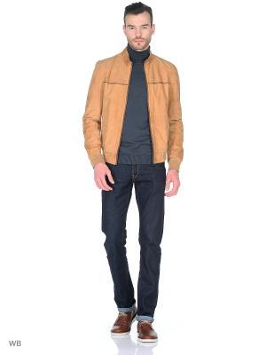 Куртка MONDIAL. Цвет: темно-бежевый