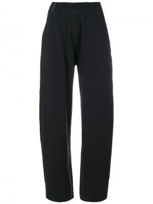 Свободные брюки Humanoid. Цвет: синий