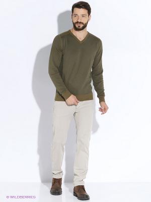 Пуловер Men of all nations. Цвет: хаки