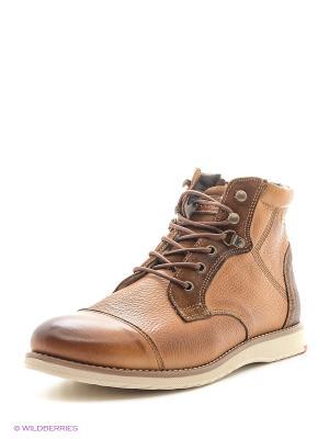 Ботинки Goergo. Цвет: светло-коричневый
