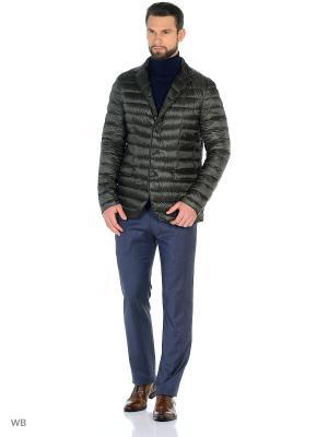 Куртка Herno. Цвет: оливковый, темно-зеленый