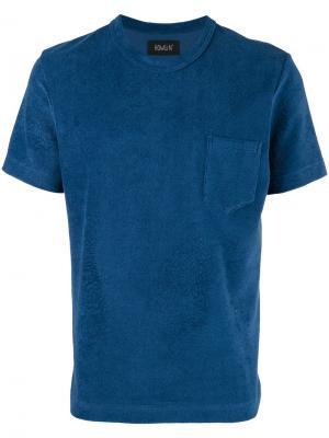 Фактурная футболка  Howlin Howlin'. Цвет: синий