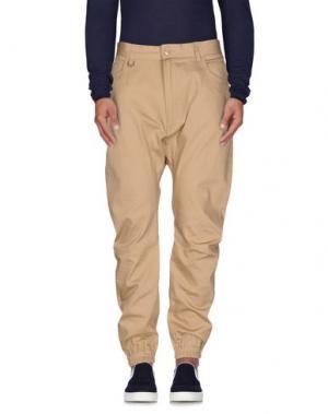 Джинсовые брюки PUBLISH. Цвет: верблюжий