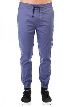 Штаны прямые  Simple Joggers Violet Anteater. Цвет: синий