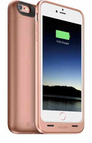 Чехол-аккумулятор Juice Pack Air для iPhone 6/6s на 2750 mAh Mophie. Цвет: rose gold
