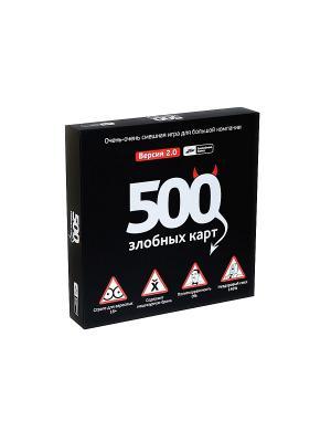 500 Злобных карт (настольные игры) Cosmodrome Games. Цвет: черный
