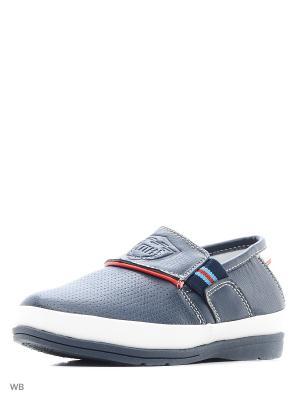 Туфли TOM MIKI. Цвет: голубой