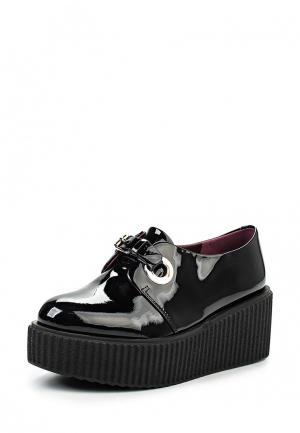 Ботинки Medea. Цвет: черный