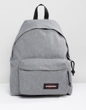 Eastpak Серый рюкзак с уплотнением PakR. Цвет: серый