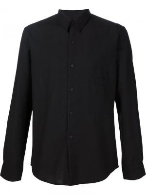 Классическая рубашка Lemaire. Цвет: чёрный