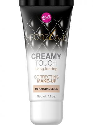 Bell Тональный Крем Маскирующий Несовершенства Secretale Creamy Touch Correcting Make-up Тон 03. Цвет: светло-бежевый