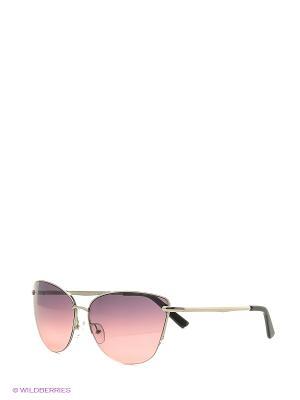 Солнцезащитные очки Vita pelle. Цвет: розовый, серый
