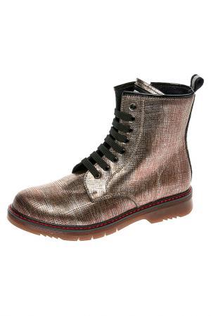 Ботинки CIAO. Цвет: бронзовый