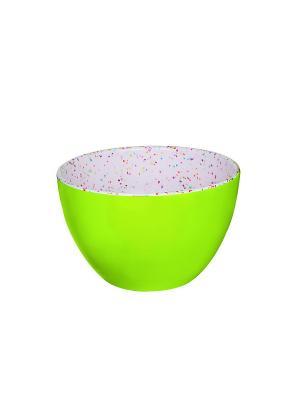 Миска малая зеленый леденец 10 см Zak!designs. Цвет: зеленый