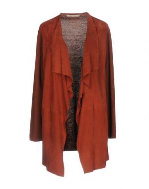 Легкое пальто GOLD CASE SOGNO. Цвет: ржаво-коричневый