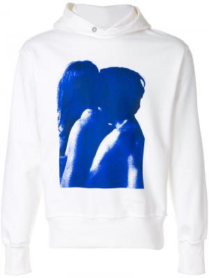 Printed hooded sweatshirt Misbhv. Цвет: белый