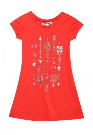 Платье Billabong. Цвет: красный