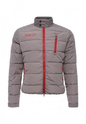 Куртка утепленная Sparco. Цвет: серый