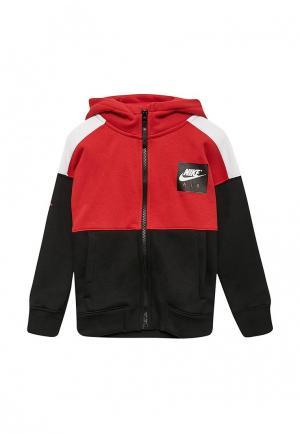 Толстовка Nike. Цвет: красный