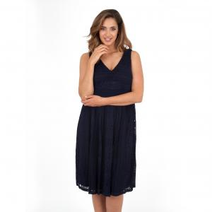 Платье KOKO BY. Цвет: темно-синий