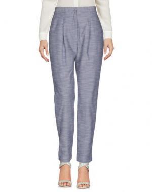 Повседневные брюки GENNY. Цвет: темно-синий
