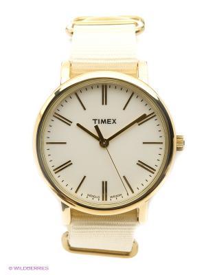 Часы TIMEX. Цвет: кремовый