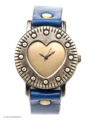 Часы Kawaii Factory. Цвет: темно-синий