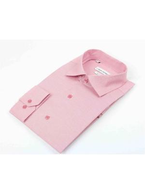 Рубашка Hans Grubber. Цвет: бледно-розовый