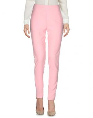 Повседневные брюки MASSIMO REBECCHI. Цвет: розовый