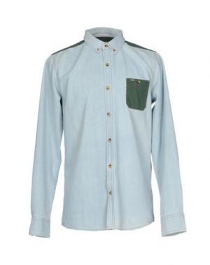 Джинсовая рубашка RIPCURL. Цвет: синий