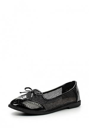 Балетки WS Shoes. Цвет: черный