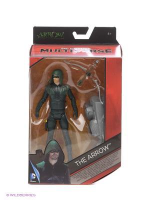 Фигурка DC Comics Multiverse - Зеленая стрела Mattel. Цвет: зеленый, серый