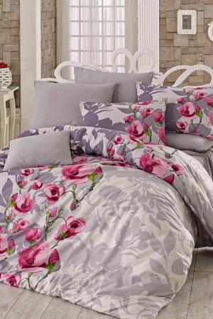 Комплект постельного белья Majoli Bahar Home Collection. Цвет: мультицвет