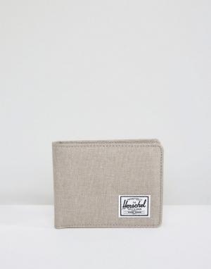 Herschel Supply Co Бумажник Roy. Цвет: бежевый