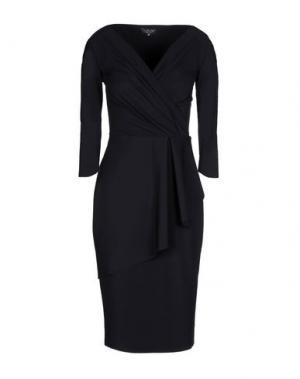 Платье до колена CHIARA BONI LA PETITE ROBE. Цвет: черный