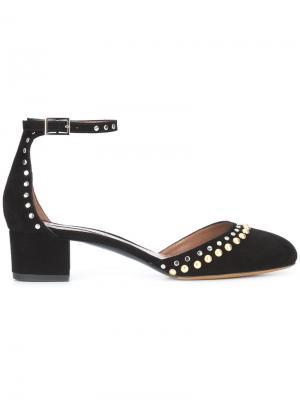 Туфли-лодочки Anais с заклепками Tabitha Simmons. Цвет: чёрный