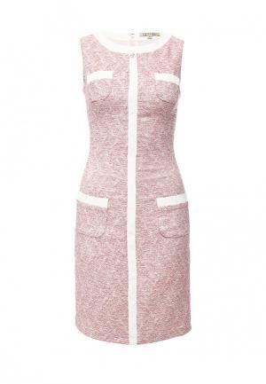 Платье Devore. Цвет: розовый