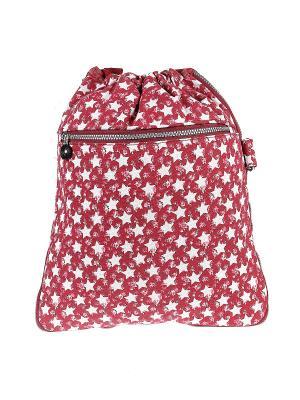 Рюкзак Happy Charms Family. Цвет: красный, белый