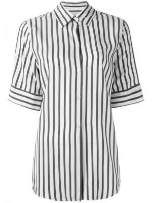 Рубашка в полоску Studio Nicholson. Цвет: серый