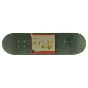 Дека для скейтборда  sss 1 Green 32 x 8 (20.3 см) Absurd. Цвет: мультиколор,зеленый