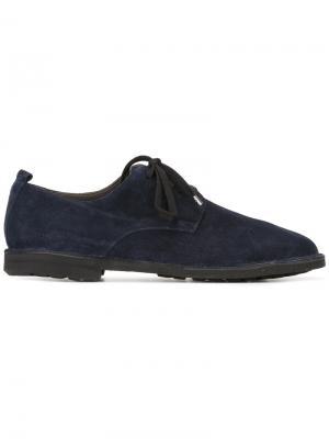 Оксфорды на шнуровке Rocco P.. Цвет: синий