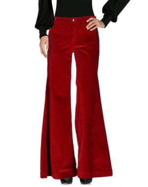 Повседневные брюки THE SEAFARER. Цвет: кирпично-красный