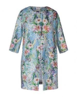 Легкое пальто EDWARD ACHOUR. Цвет: небесно-голубой