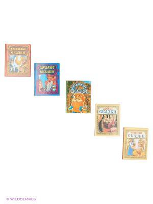 Комплект В ГОСТЯХ У СКАЗКИ №2 (5 видов) Издательство Дом славянской книги. Цвет: белый