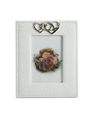 Фоторамка Свадебное фото Русские подарки. Цвет: белый