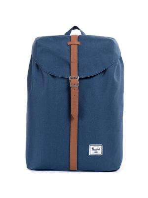 Рюкзак POST MID-VOLUME (A/S) Herschel. Цвет: темно-синий,светло-коричневый